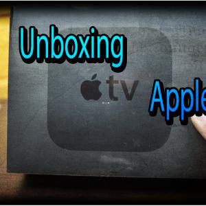 unboxing appletv4
